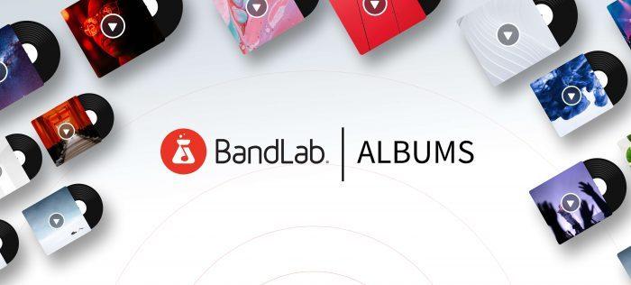 BandLab Albums Banner
