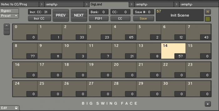 BigSwingFace GigLand 2