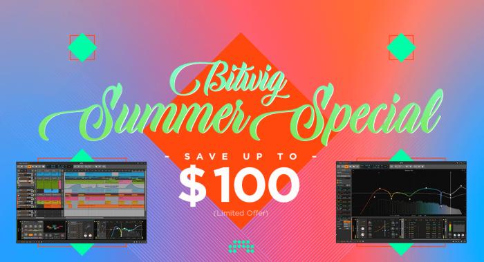 Bitwig Summer Special 2020