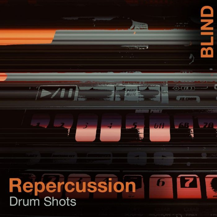 Blind Audio Repercussion Drum Shots