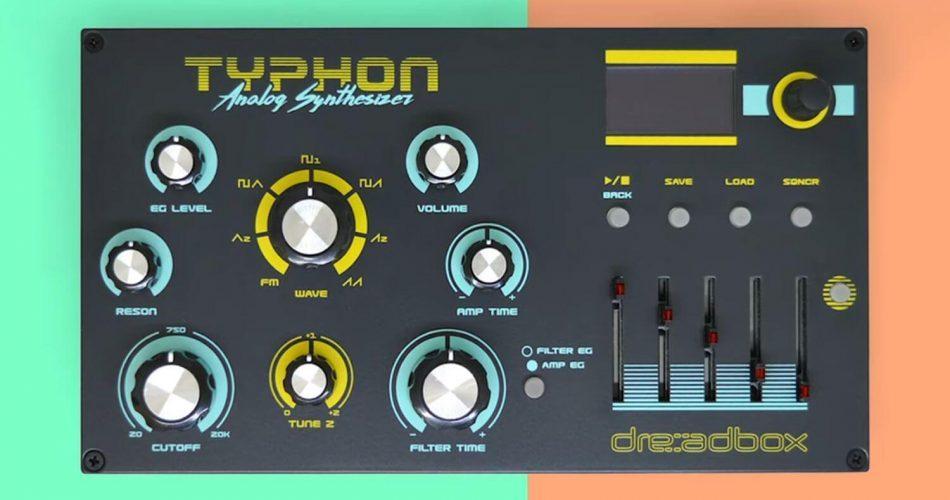 Dreadbox Typhon top