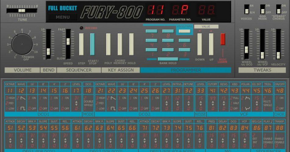 Full Bucket Fury 800