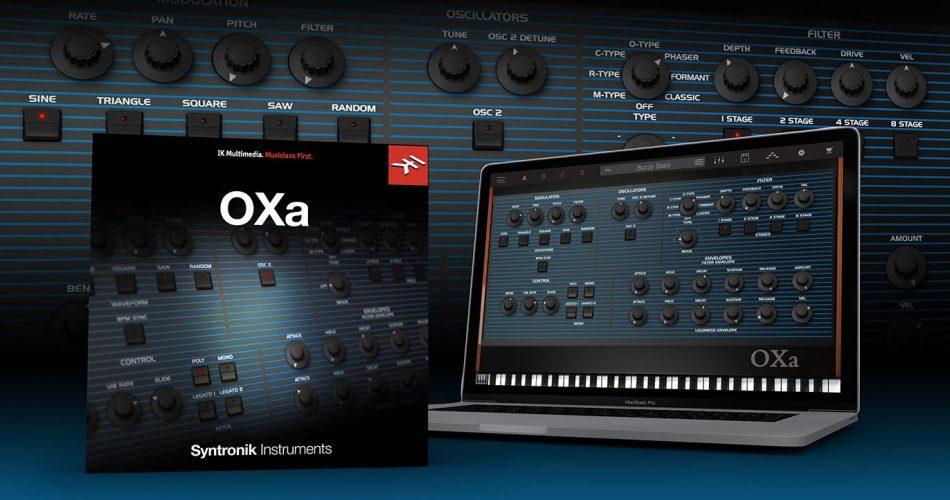 IK Multimedia Syntronik OXa