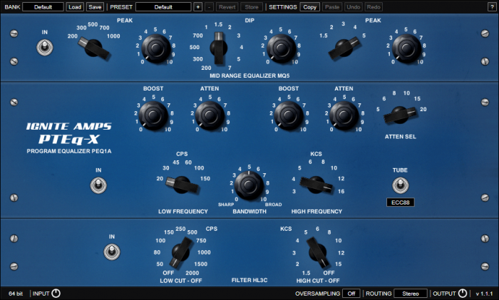 Ignite Amps PTEq X 111