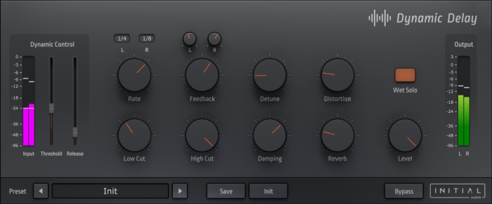 Initial Audio Dynamic Delay