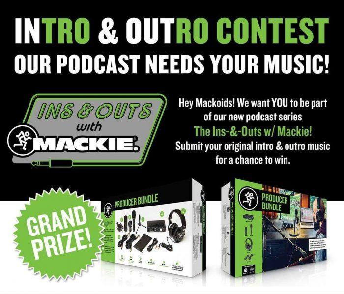 Mackie Intro Outro Contest