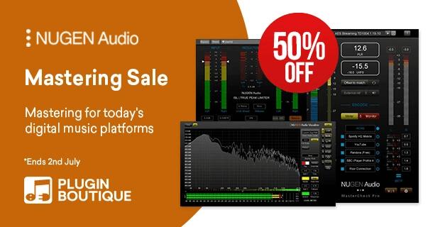 NUGEN Mastering Sale
