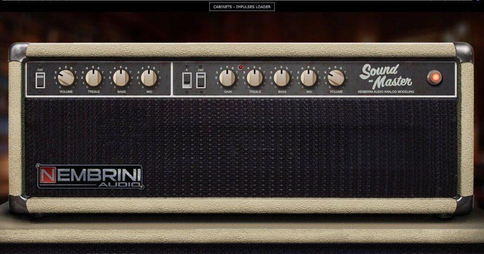 Nembrini Audio Sound Master Amp