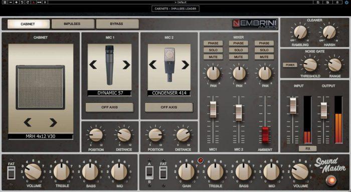 Nembrini Audio Sound Master Cab