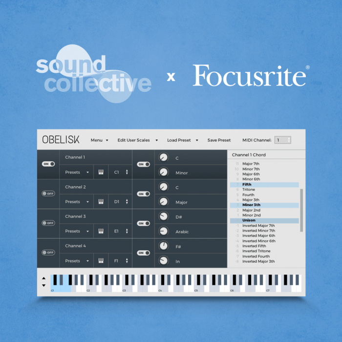 Novation Sound Collective FrozenPlain Obelisk