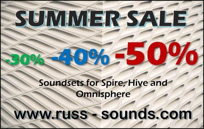 Russ Sounds Summer Sale