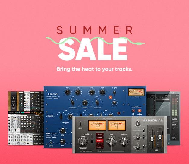 Softube Summer Sale: Get up to 60% off audio plugins & bundles