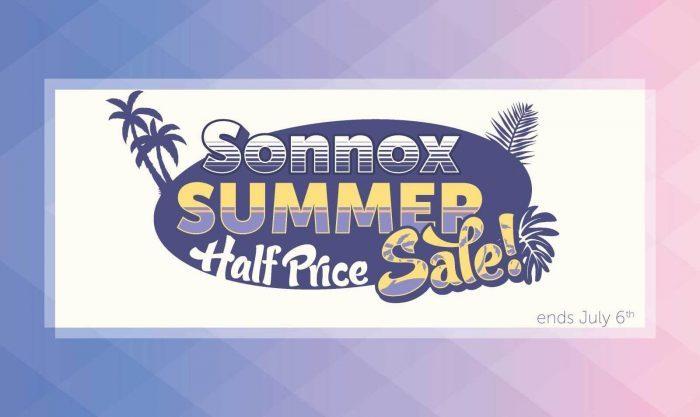 Sonnox Summer Half Sale 2020