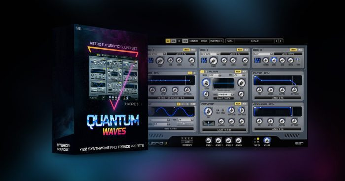 Sounds 2 Inspire Quantum Waves for Hybrid 3