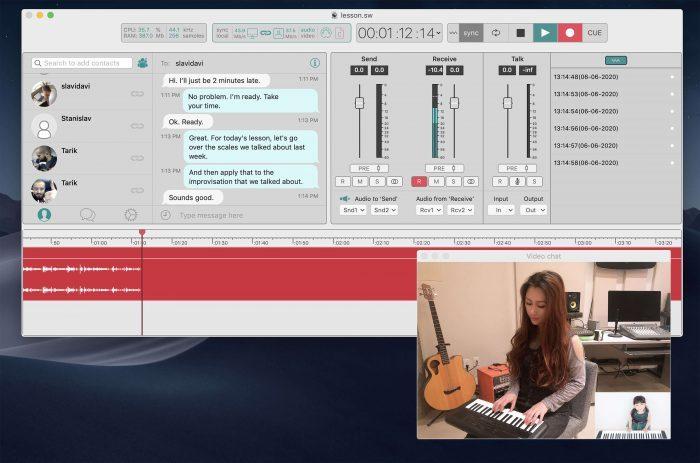Soundwhale online lesson