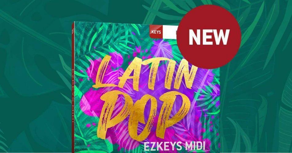 Toontrack Latin Pop EZkeys MIDI