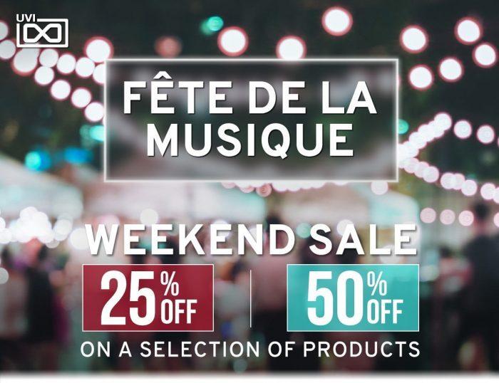 UVI Fete De La Musique Weekend Sale