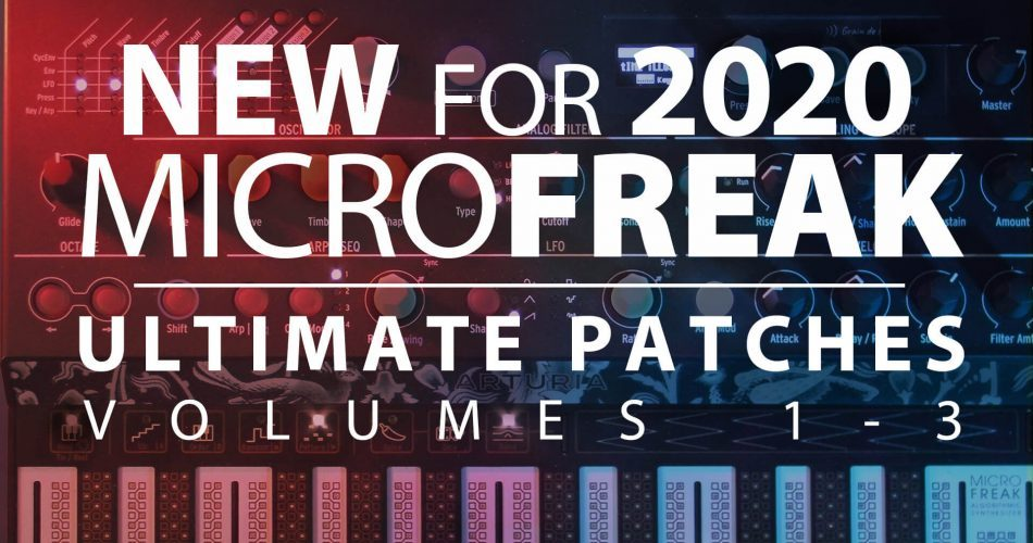 Ultimate Patches Arturia Microfreak