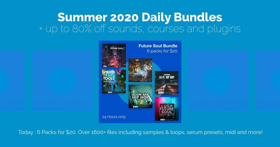ADSR Sounds Audentity Future Soul Bundle feat