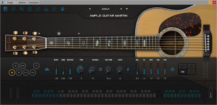 Ample Guitar Martin