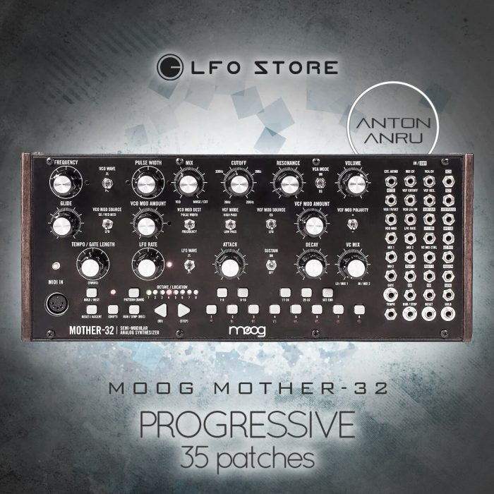 Anton Anru Progressive for Moog Mother-32