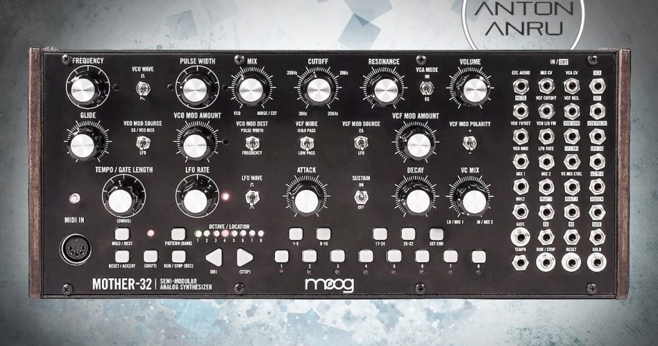 Anton Anru Progressive for Moog Mother 32