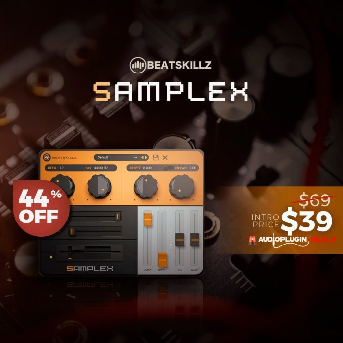 Audio Plugin Deals Samplex Sale