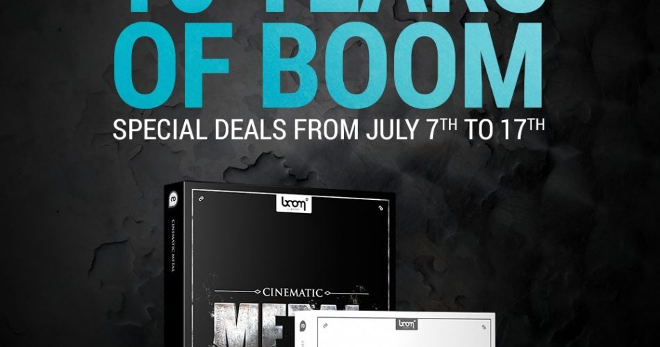 BOOM 10 Year Cinmatic Metal Bundle