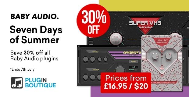 Baby Audio Summer Sale