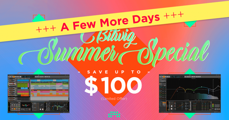 Bitwig Summer Special extended