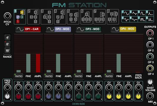 Cherry Audio FM Station for Voltage Modular