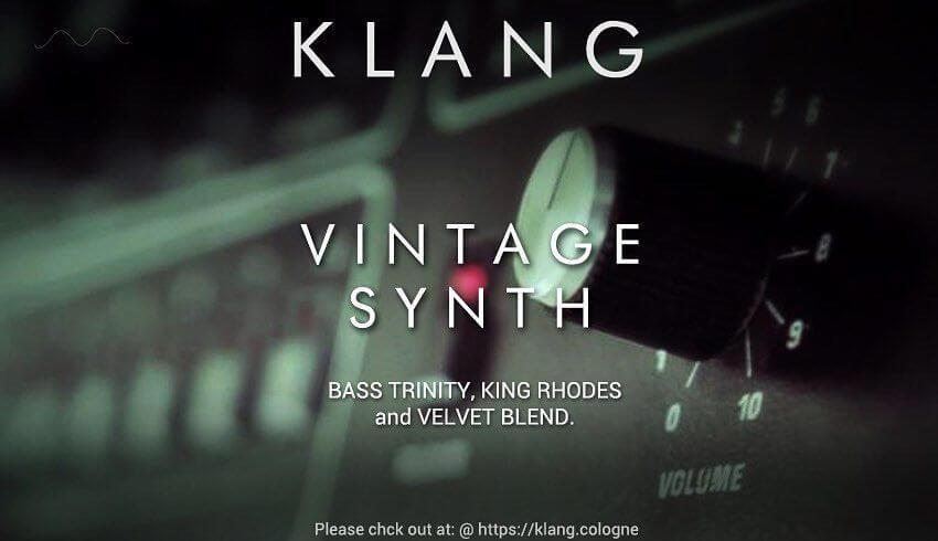 Cinematique Instruments Klang Vintage Synth