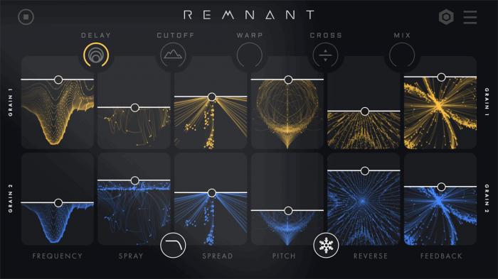 Creative Intent Remnant grain delay