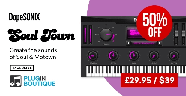 DopeSONIX Soul Town 50% OFF