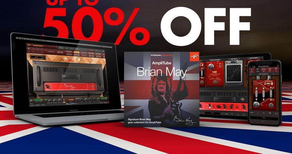 IK Amplitube Brian May 50 OFF