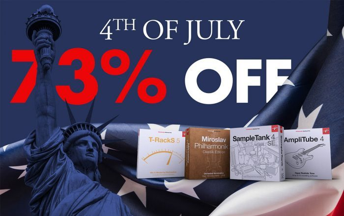 IK Multimedia 4th of July Sale