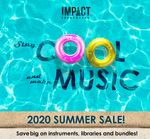 Impact Soundworks Summer Sale