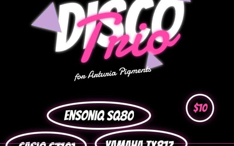 Indossa Disco Trio for Pigments 2