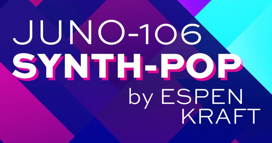 JUNO 106 Synth Pop by Espen Kraft AlbumArt