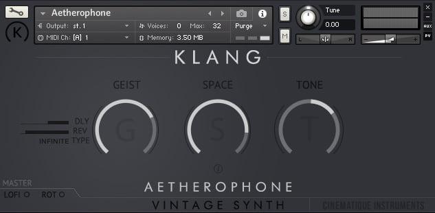 Klanggui aetherophone
