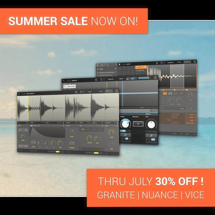 New Sonic Arts Summer Sale 2020