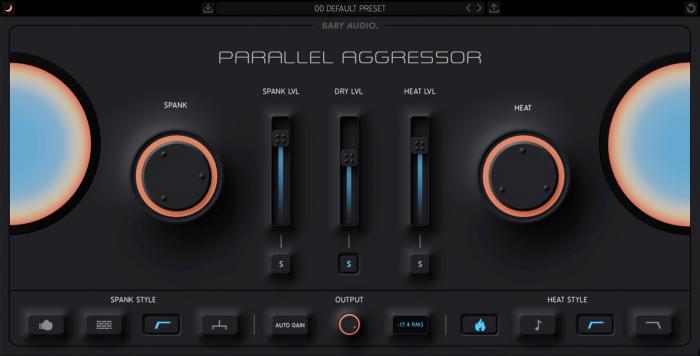Parallel Aggressor BABY Audio