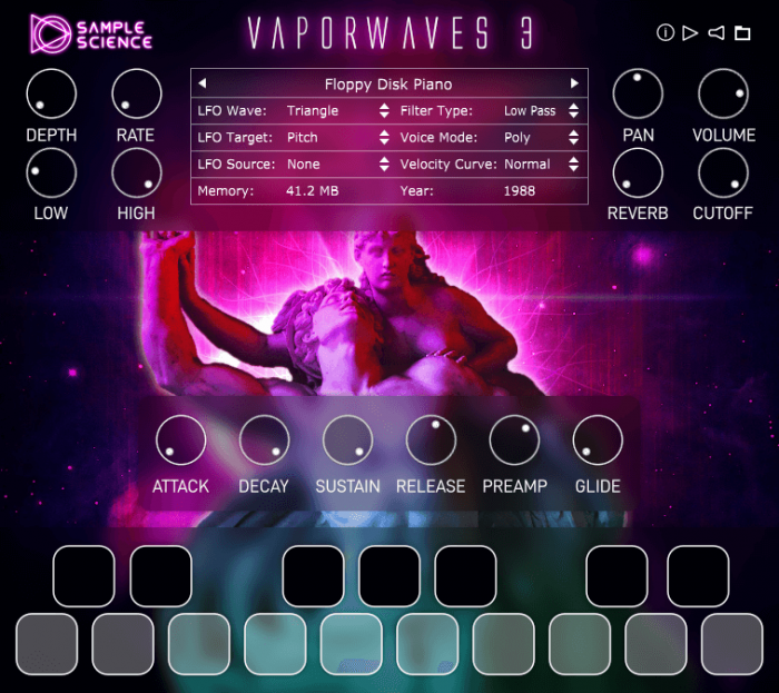 SampleScience Vaporwaves 3 Screenshot