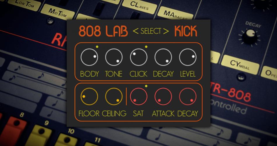 SampleScience 808 Lab Kick feat