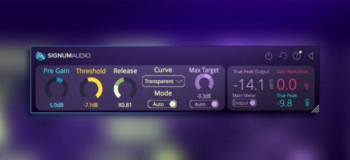 Signum Audio BUTE Limiter 2 readout