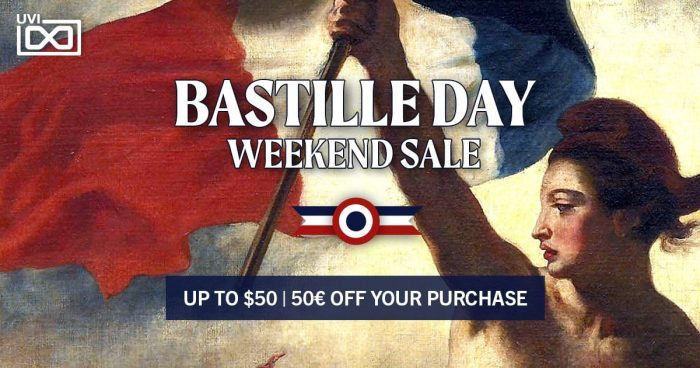 UVI Bastille Day Sale