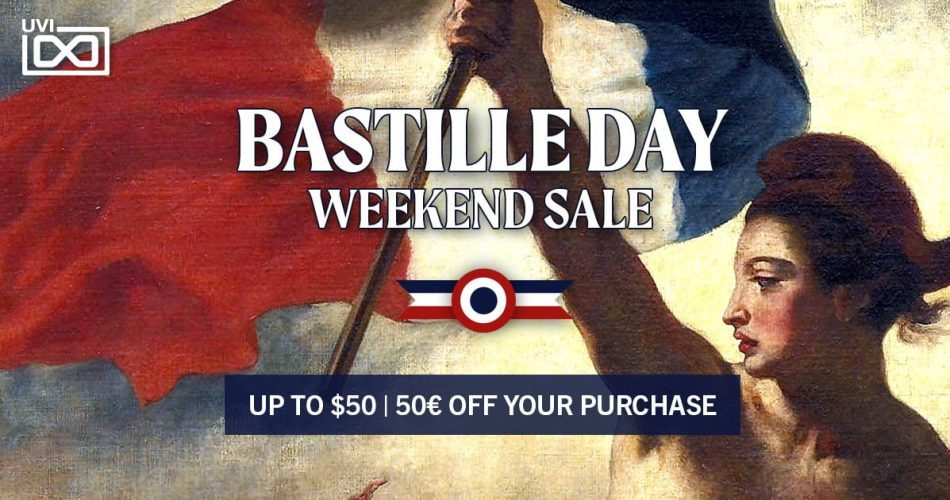 UVI Bastille Day Sale