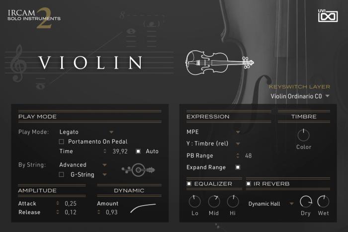 UVI IRCAM Solo Instruments 2 Violin