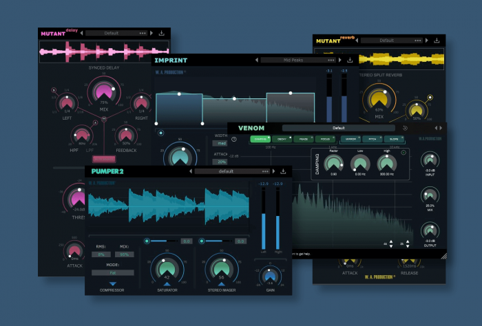VST Buzz WA Production plugins 9 eur