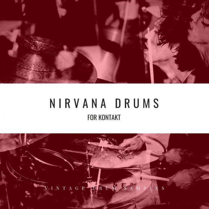 Vintage Drum Samples Nirvana Drums
